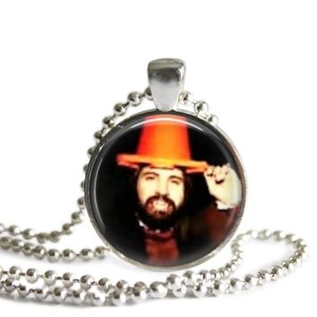 What We Do In The Shadows Nandor The Wizard 1 Inch Silver Plated Pendant Necklace Handmade