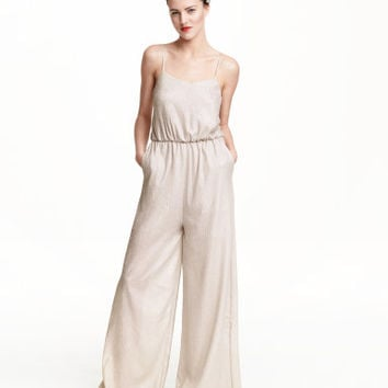 H&M Crinkled Jumpsuit $59.99