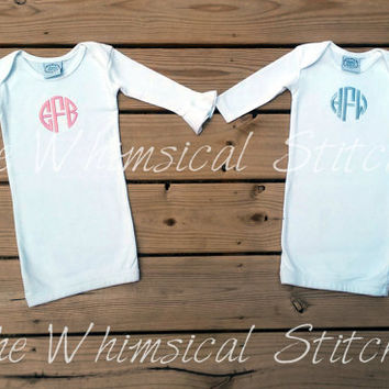 Personalized Newborn Outfit / Baby Shower Gift / Take Home Outfit / Baby Girl / Baby Boy