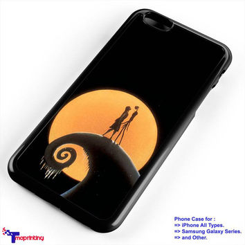 Jack Skellington & Sally Nightmare quotes - Personalized iPhone 7 Case, iPhone 6/6S Plus, 5 5S SE, 7S Plus, Samsung Galaxy S5 S6 S7 S8 Case, and Other