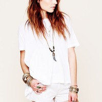 Free People Printed Cut Off