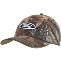 Ford - Mens Ford - Logo Camo Adjustable Baseball Cap Multi