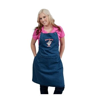 German Gift Idea Guten Appetit! Denim Apron
