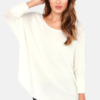 Lavish is My Command Ivory Sweater