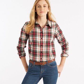 Scotch Plaid Shirt, Slightly Fitted | Free Shipping at L.L.Bean.