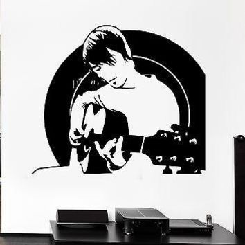 Wall Decal Music Rock Guitar Pop Art Cool Decor For Living Room Unique Gift (z2628)
