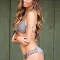 Fay Taupe Two Pieces Swimsuit
