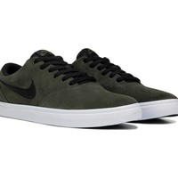 Men's Nike SB Check Solar Suede Skate Shoe