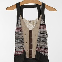 Gimmicks by BKE Pieced Sweater Vest - Women's Vests | Buckle