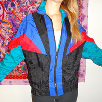 Retro 80s Windbreaker
