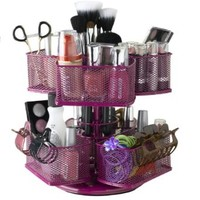 Nifty Cosmetic Organizing Carousel, Rose:Amazon:Beauty
