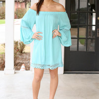 When in Rome Dress - Mint