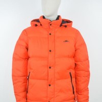 Penfield AW17 Equinox Jacket in Fire Orange