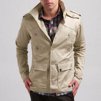 LOSANGELIST ? KANE & UNKE / NYLON MILITARY JACKET Childhood...