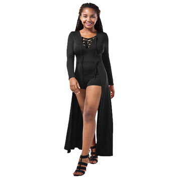 Fashion Long Sleeve Women Dress Chest Strap Sexy Wine Black Long-sleeved Bodycon Dresses Vestido