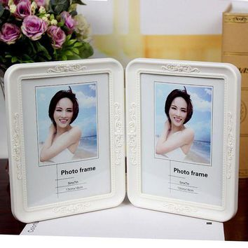 ac ICIK83Q Wedding Dress Photo Frame Set Innovative Plastic Children Rack [10598556300]