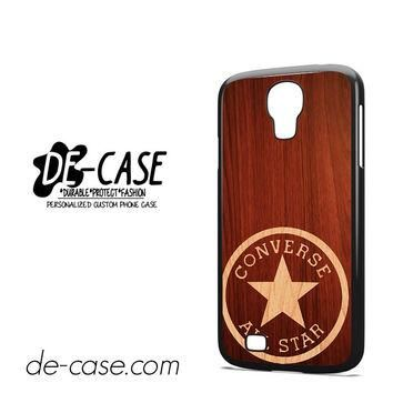 Converse Wood For Samsung Galaxy S4 Case Phone Case Gift Present YO