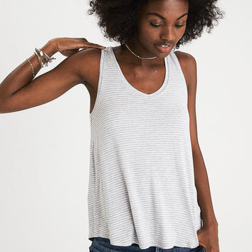 AEO Soft & Sexy Favorite Tank, Gray