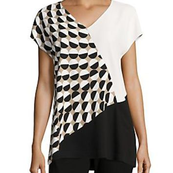 Lafayette 148 New York - Charlize Colorblock Blouse