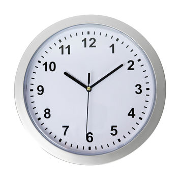 """Evelots® Mountable Round Wall Clock With Hidden Safe 10"""", Security For Valuables"""