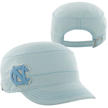 47 Brand North Carolina Tar Heels :UNC: Ladies Dawn Fidel Adjustable Hat - Carolina Blue