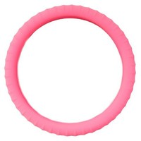 New SILICONE Pink Neon Glow In the Dark- Steering Wheel Cover By Cameleon