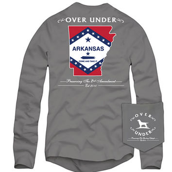 Over Under - Come and Take it Arkansas Long Sleeve