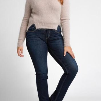 Silver High Rise Avery Jeans- Dark Wash