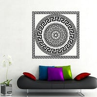 Wall Decal Vinyl Sticker Greek Pattern Yoga Bebroom Art Hall Bathroom Decor KS8