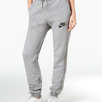 Nike Rally Quilted Jogger Sweatpants | macys.com