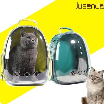 Cat-carrying backpack Pet Cat Backpack  for Kitty Puppy Chihuahua Small Dog Carrier Crate Outdoor Travel Bag Cave for cat
