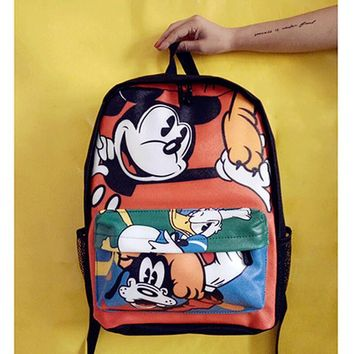 2017 Cartoon Mickey Children Backpacks kids Kindergarten Backpack kid School  Bags Satchel for 4796d74283132