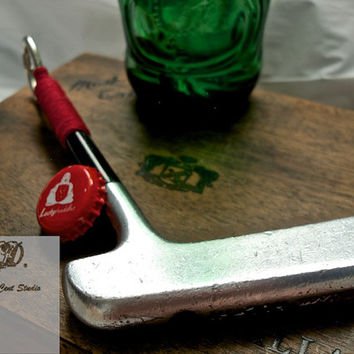Golf Club Bottle Opener made out of a Vintage Putter - Rare Wilson Hol-Hi Putter
