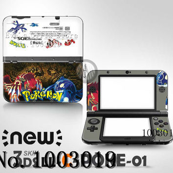 Brand New Last Dream Sticker Game Full Body skin decal Sticker Cover For Nintendo For new 3DS LL XL Free Shipping