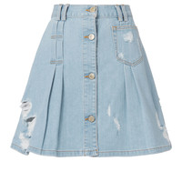 Penny Denim Mini Skirt