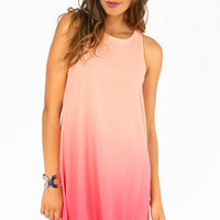 Waves of Ombre Shift Dress $33
