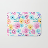 Lisa Bath Mat by sylviacookphotography