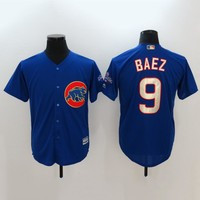 Men's MLB  Buttons Baseball Jersey  HY-17N11Y22D