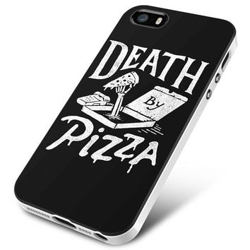 Death By Pizza iPhone 5 | 5S | 5SE Case Planetscase.com