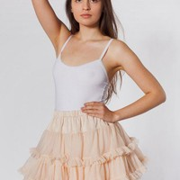 American Apparel - Multi-Layered Reversible Petticoat