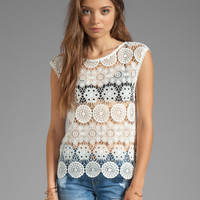Sanctuary Modern Nomad Bell Shell in White