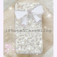 iPhone 4 Case, iPhone 4s case, iPhone 5 Case, Bling iPhone 4 case, iPhone 5 bling case, Cute iPhone 4 case, iPhone 5 case bow, case iphone 5