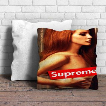 Lana del rey supreme Pillow | Aneend