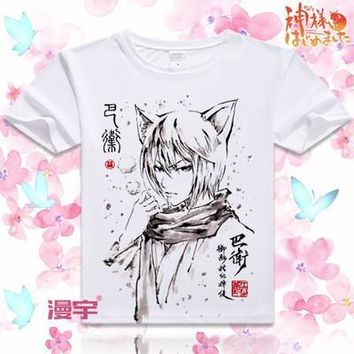 Kamisama Kiss Short Sleeve Anime T-Shirt V16