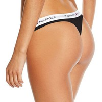 """Tommy Hilfiger"" Fashion Sexy Women's Cotton Thong Underpants I"