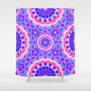Mandala Psychedelic Visions G220 Shower Curtain by MedusArt | Society6