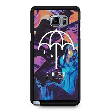 Bmth That S The Spirit Samsung Galaxy Note 5 Case