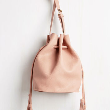 Worth the Tassel Bag in Carnation | Mod Retro Vintage Bags | ModCloth.com