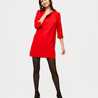 Puff Sleeve Shift Dress | LOFT