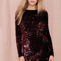 Motel Discotheque Sequin Dress